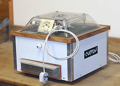 Curfew Egg Incubator Model 236 Auto Turning and Hatching tray
