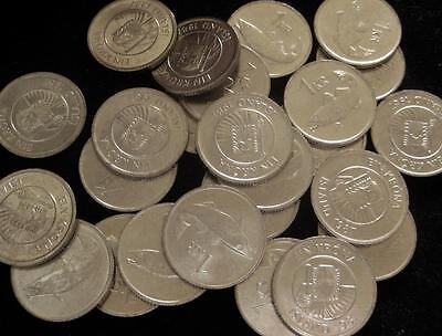 Iceland Krona 1987 BU lot of 25 fish great coin cutter coin