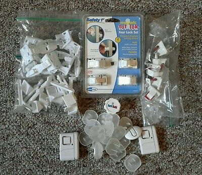 Lot of Child Safety Devices for the Home - Locks and Alarms