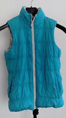 H&M girls reversible body warmer used size 10/11 in excellent condition