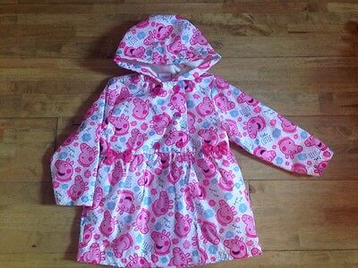 Gorgeous Peppa Pig Coat Age 2-3 From Debenhams