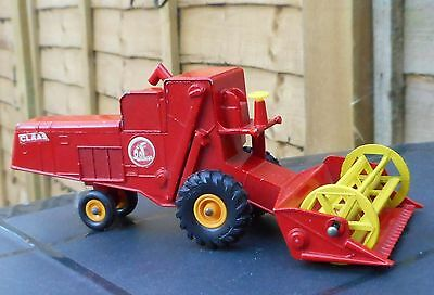 Matchbox King Size K-9 Claas Combine Harvester, early '70s vintage, ex cond