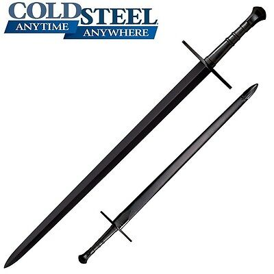 Cold Steel MAA Man At Arms Hand-And-A-Half Sword & Scabbard 88HNHM NEW