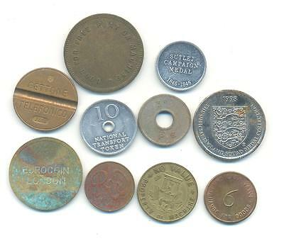 Very Nice Rare.mixed Lot Of Tokens Very Collectable.x.31