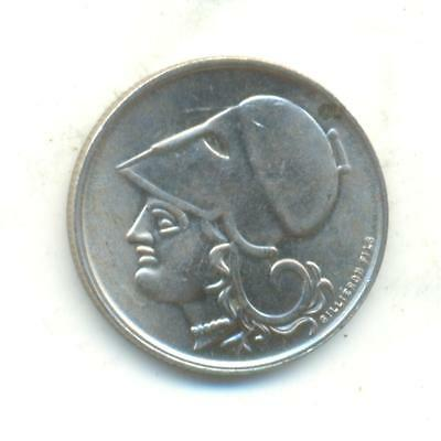 Very Rare.greece.50.lepta.1926.unc.very Rare In This Gradevery Collectable.b.33