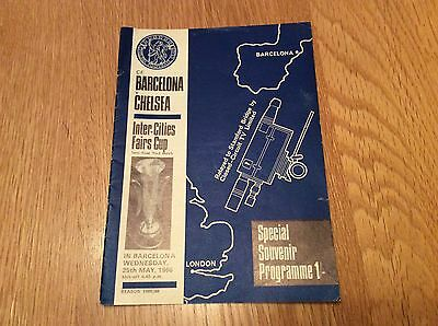 1965/6 FC Barcelona v Chelsea. Fairs Cup S/F Play Off.  CCTV Relay