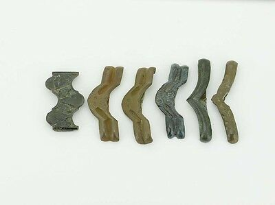 B307. Roman belt appliques, artifacts lot of six