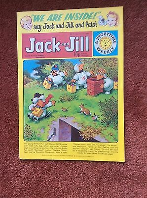 JACK AND JILL, CHILDREN'S COMIC, 15th NOVEMBER 1980. VIRTUAL MINT CONDITION.