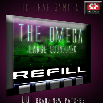 REASON REFILLS TRAP OMEGA 1000 Patches HUGE BANK!