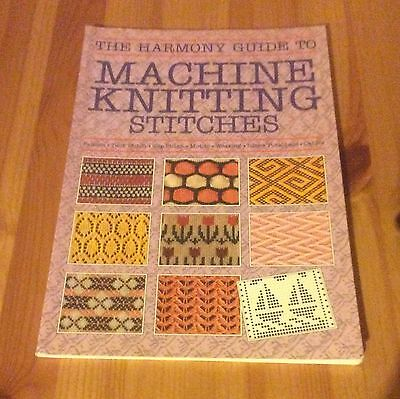 The Harmony Guide to machine Knitting Stitches.