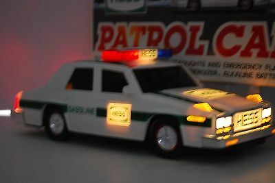 1993 Hess Gasoline Patrol Car w Working Lights Sirens Not Working Flashers SJ