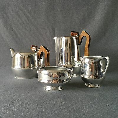 1950's Vintage Picquot Ware Tea And Coffee Set