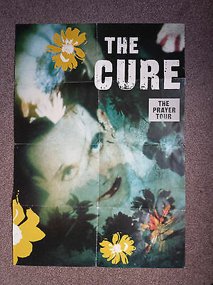 The Cure The Prayer Tour Promo Poster