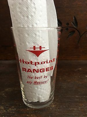 Vintage Advertising  Hotpoint Range Measuring Glass