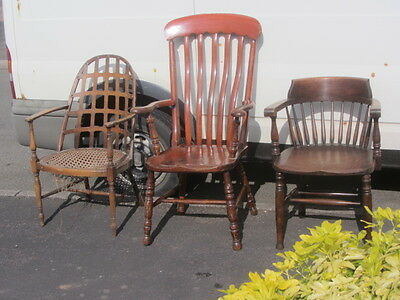 3 Old Chairs For Renovation