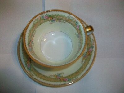 Noritake  Fine Bone China Gold Trimmed Cup/ Saucer & Six Bowls
