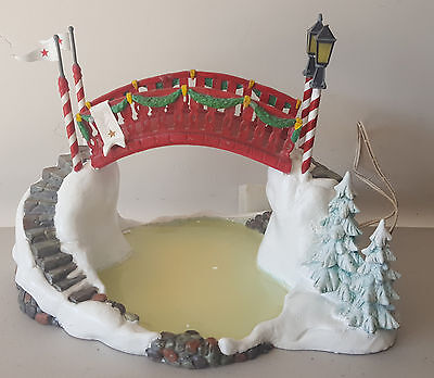 """Department 56 NORTH POLE """"BRIDGE OVER THE ICY POND""""  # 56.56720"""