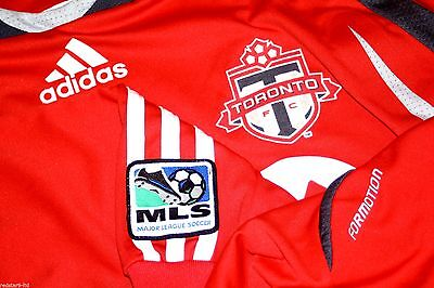 Adidas Formotion Player Issue Tech Fc Toronto Canada Mls Shirt Xl Vgc