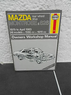 Haynes Owners Workshop Manual For Mazda Montrose And 626  'rwd' 1979 To 1983