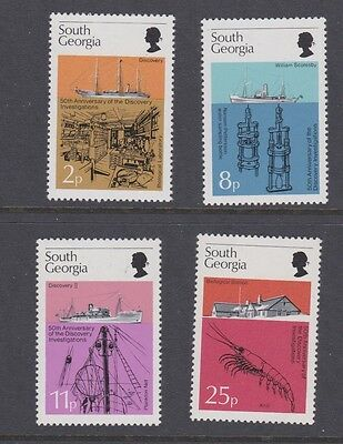 Stamps South Georgia 1976 MNH