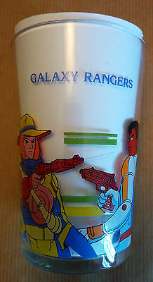 Verre à moutarde GALAXY RANGERS 1988 Gaylord Transcom Antenne 2