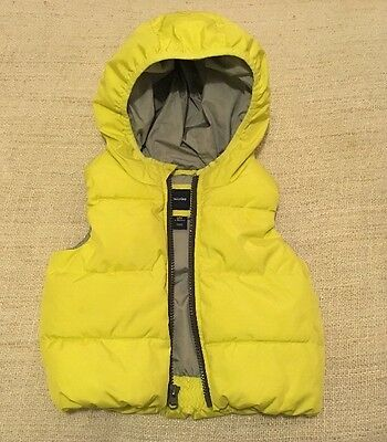 As New ! Baby Gap Baby Boy Warmest Puffer Vest Size 12-18Months