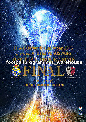 FIFA CLUB WORLD CUP 2016 Brochure AND Final programme