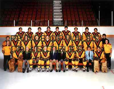 1983 Vancouver Canucks Team Photo 8X10