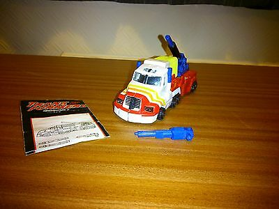 Vintage Transformers Sureshot G2 With Instructions.complete
