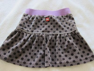 Funky Grey Spotted Dana Lego Skirt Age 4 (104) RRP £19.99