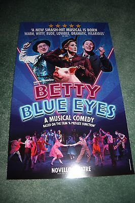 Betty Blue Eyes West End theatre poster musical