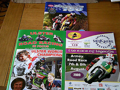 3 Ulster Motor Cycle Magazines
