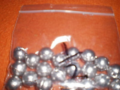 DRILLED BULLET BALL WEIGHT  X 20  1/2 oz