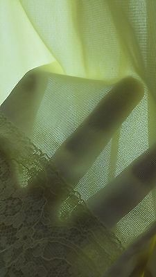 Stunning Vintage 60s Sheer Sensual Femme Nylon Lacy French Pantie Knickers M BN