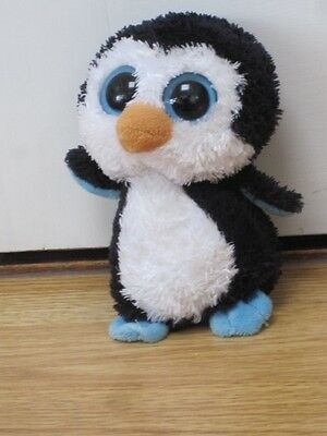"""TY WADDLES PENGUIN BEANIE BABIES BOO 6""""approx SOFT TOY LIKE YOOHOO"""