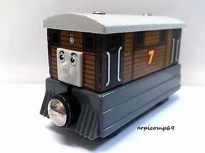 TOBY ENGINE - BRIO ELC THOMAS AND FRIENDS Wooden Trains T1
