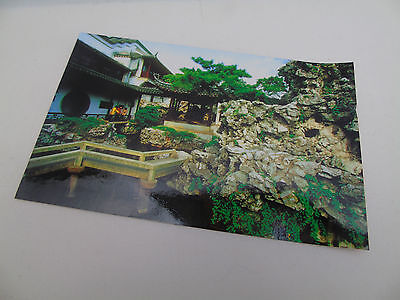 Japan - The Mountain Villa With Embracing Beauty -  Post Card Late 20th Century