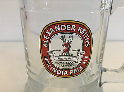 Alexander Keith's beer stein, mug, cup, glass