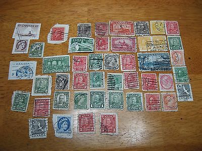 Collection Of Canadian / Canada Postage Stamps