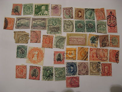 Collection Of African Postage Stamps