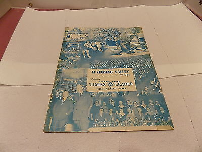 Wyoming Valley In Review 1944 Published  By Times Leader Wilkes Barre Pa.