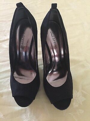 woman shoes high heels wedges size 6.5