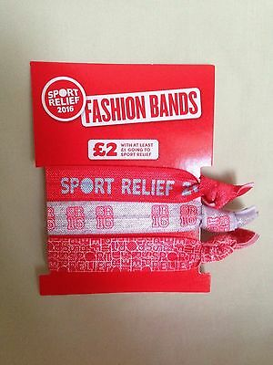 Sport Relief 2016 Fashion Bands