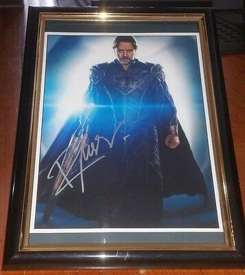 Hand Signed By Russell Crowe With Coa Batman V Superman Framed Autographed Photo