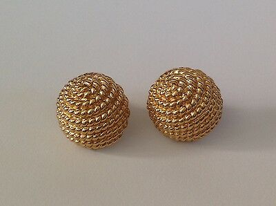 Beautiful Vintage Christian Dior Earrings Signed