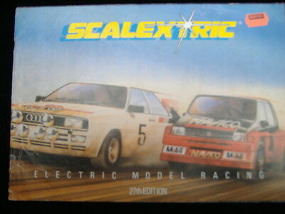 Scalextric 27Th Edition Catalogue