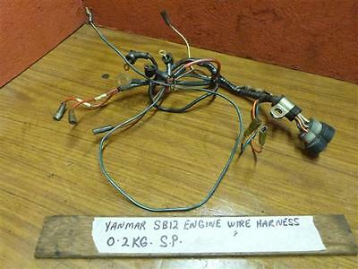 Yanmar SB12 Engine Wire Harness