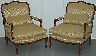 Pair Of Stunning Wade Rimini Occasional Armchairs French Chateau Rrp £1850
