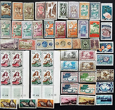 French Colonies Stamps South America South Pacific Areas