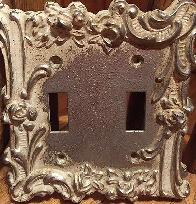 Vintage M.C. Company 60 T.T. Double Switch Plate Cover Light Switch